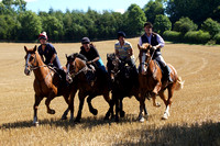 29.08.2016 - York and Ainsty North Hunt fun ride